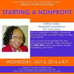 Kat Starting a Nonprofit Panel